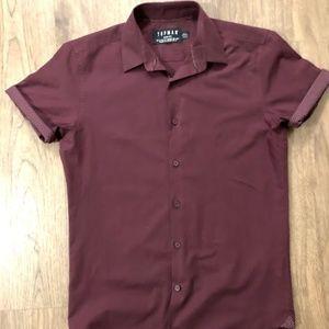 Topman Collared Dress Shirt - Size S